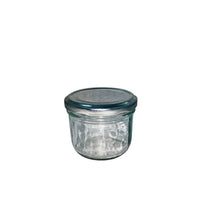 Glass Jar With Tin Plate Cap 240ml