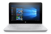HP Stream x360 11-AG001NE Convertible Touch Laptop – Celeron 1.6GHz 4GB 320GB Shared Win10 11.6inch HD - White