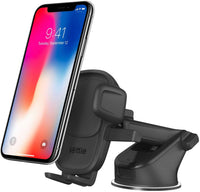 "iOttie EASY ONE TOUCH  5 Universal Dash Car Mount - Premium Dashboard / Windshield Phone Holder, for iPhone 11 Pro Max/11 Pro/11/XR/XS Max/XS/X/8 Plus, Samsung, Huawei & devices up to 6.3"" screen size"