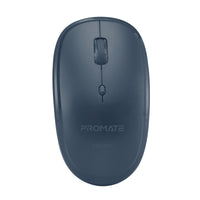 Promate - Wireless Mouse, Portable 2.4Ghz Ergonomic Precision Tracking Optical Mouse with USB Nano Receiver, 3 Adjustable Dpi Levels and Low Power Consumption for Laptops, iMac, PC, Desktop, Hover