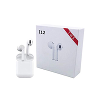 ISKIL i12 TWS Bluetooth 5.0 Earphone True Wireless Sports Touch Earbuds Sweatproof headset 3D Stereo Air pod