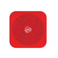 Soundcore Bluetooth Speaker with Loud Stereo Sound, Rich Bass, 24-Hour Playtime,10m Bluetooth Range, Built-In Mic. SP-100A Red