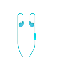 In-Ear Headphones with Mic Noise Canceling Headset for iPhone, Samsung, Huawei,HTC phones, laptops and computer BLUE