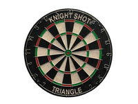 "Knight Shot Bristle Dartboard, 18""X1-1/2"" Metal Triangle Wire Brass Dart Excluded"
