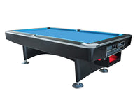 Knight Shot Royal Tournament Billiard Table 9ft.x4.5ft. Black Finishing | Ball Return System