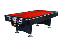 Knight Shot Turbo Commercial Billiard Table 9ft.x4.5ft. Black Finishing | Ball Return System