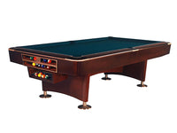 Knight Shot Turbo Commercial Billiard Table 7ft.x3.5ft. Brown Finishing | Drop Pocket