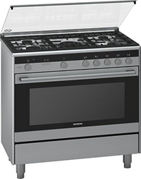 Siemens iQ700 Free-Standing Dual fuel Range Cooker Stainless Steel HQ738357M