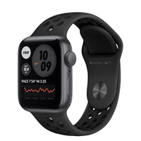 Apple Watch Nike SE Space Gray Aluminum Case with Anthracite/Black Nike Sport Band - Regular
