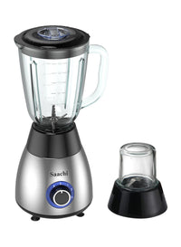 Saachi 2 in 1 Blender /Grinder NL-BL-4391-BK with a Pulse Function