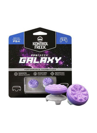 2-Piece Galaxy Thumb Grip Set For PS4 Controllers