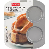 Prestige 4 Cup Yorkshire Pudding Tin