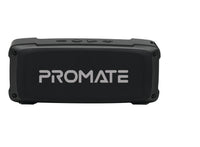 Promate Bluetooth Premium 6W HD Rugged Wireless Speaker with 4H Playtime, Built-in Mic, FM Radio, 3.5mm Aux Port, TF Card Slot & USB Media Port OutBeat Black