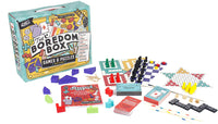 Professor Puzzle  THE BOREDOM BOX - Huge Games & Puzzles Set - Over 250 Activities from Classic Board Games to lateral Thinking Puzzles | Brain Train Indoor Games for Kids, Family, Friends|Game Night