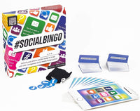 Professor Puzzle SOCIAL BINGO - The Original Social Media Bingo Game Set, Fun Social InterActive Party Game, Get Ready to Blush with This Outrageous Modern Bingo Party Game by Looney Goose