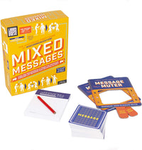 Professor Puzzle MIXED MESSAGES - Lip Reading & Drawing Party Game - The Hysterical Family Game of miscommunication, Fun Indoor or Outdoor Activity, Great for Party, for Kids, Adults, Family, Friends