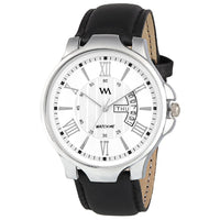 Quartz Analogue White Dial Analog Watches for Men