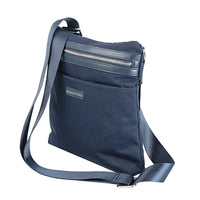 Promate Tablet Sling Bag, Ultra-Protective Shoulder Sling Bag with Multiple Secure Pockets and Shock Absorbent for 10 Inch Tablet and Laptops, Roxy-TB Blue