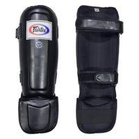 Fairtex Shinguards In-Step Double Padded Protector SP3 Black