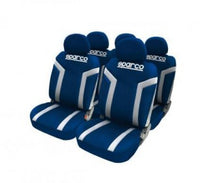 SPARCO SEAT COVER LINEA S BLUE