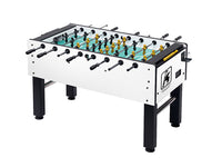 Knight Shot Foosball Table White Finishing 140 X 75.2x 88cm | 93kgs.