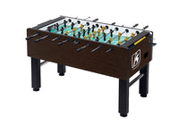 Knight Shot Foosball Table Brown Finishing 140 X 75.2x 88cm | 93kgs.