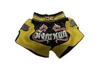 Danger Shorts Yellow Fire