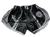 Booster Shorts White Shield