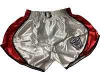 Booster Shorts Retro Shield 2 Red