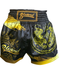 Blegend Boxing Shorts Gold Tiger