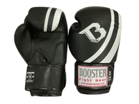 Booster Boxing Gloves Pro BGS Black White