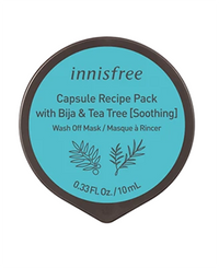 Innisfree Capsule Recipe Pack - Bija & Teatree