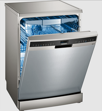 Siemens iQ500 free-standing Dishwasher 60 cm Stainless steel, lacquered SN258I20TM
