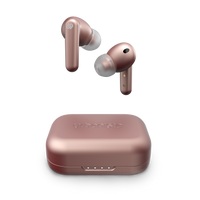 Urbanista LONDON Active Noise Cancelling True Wireless Earphone - Bluetooth 5.0, 25Hr Battery Life, Touch Control, In-Ear Detection, Wireless Charging, for Smartphones, Tablets, PCs & Laptops - Pink