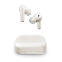 Urbanista LONDON Active Noise Cancelling True Wireless Earphone - Bluetooth 5.0, 25Hr Battery Life, Touch Control, In-Ear Detection, Wireless Charging, for Smartphones, Tablets, PCs & Laptops - White
