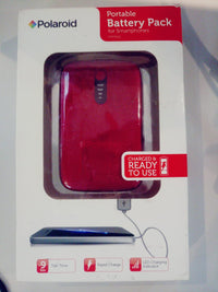Polaroid Portable Battery Pack(3000mah) For Smartphones-Red