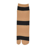 Women Black & Beige Patterned Above Ankle-Length Socks