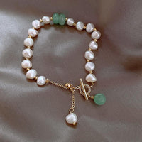 2021 Natural Baroque Pearl Bracelet