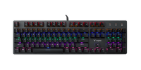 RAPOO VPRO V500 Pro Gaming Keyboard Wired Mechanical Backlit AR
