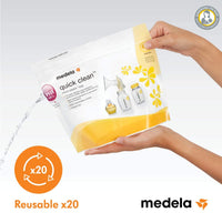 Quick Clean Microwave Bags (Pk/5) By Medela