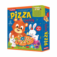 Explore - Pizza Party - Perfumed Dough Dough - Multicolor for kids, Age 3+