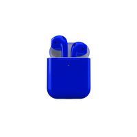 Merlin Craft Apple Airpods 2 Wireless Blue Glossy