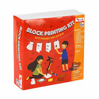 CocoMoco Kids - Block Printing Kit
