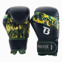 Booster Boxing Gloves Sparring Camo Green