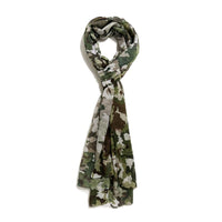 Scarf Affair Green Camouflage