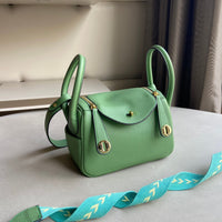 Littlebunnystore LD 22 cm togo PU in light green