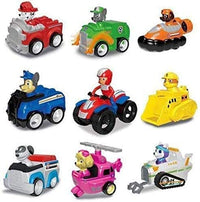 Mission Paw Patrol Dogs Jungle Rescue Set,Marshall,Rocky,Zuma,Ryder,Chase,Rubble,Skye,Everest & Robo Doc Cars Action Figures Toy Gift (Multi Colors) For Ages 3+