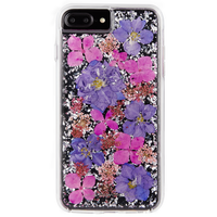 Case-Mate - Karat Petals Case for iPhone 8/7/6S/6 Plus Purple