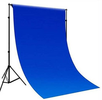 Promage Backdrop 3*6M Blue Color