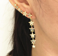 Dangling Star Earring